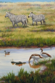 Gathering at the Water Hole