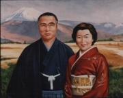 Prime Minister Obachi  &  Wife